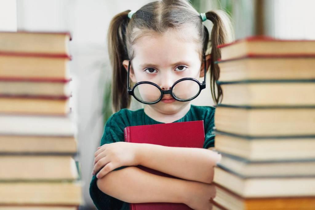 gafas de niña