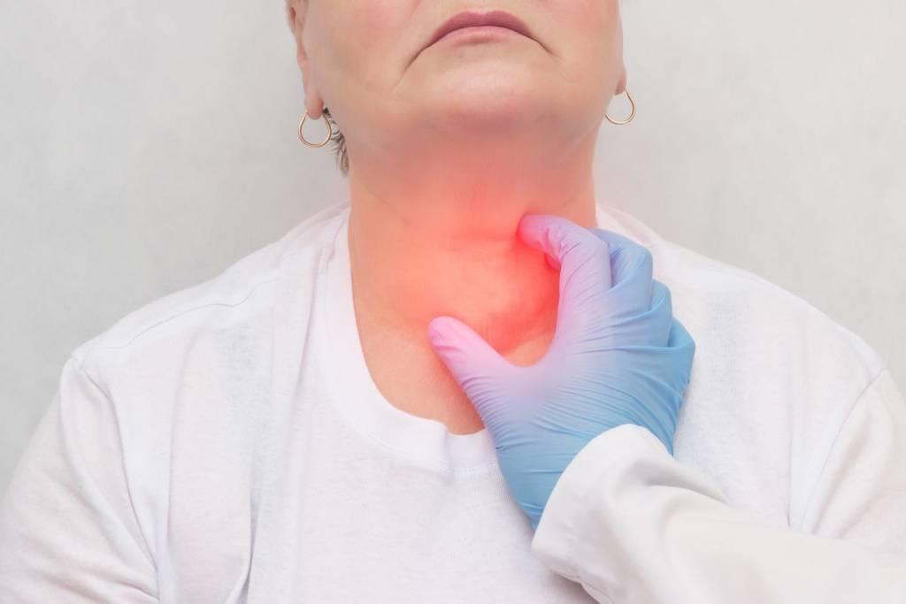 Tamaño de la tiroides