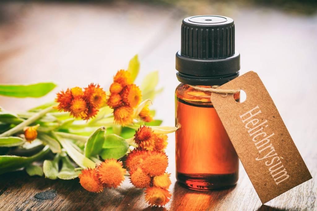 Aceite esencial de helichrysum